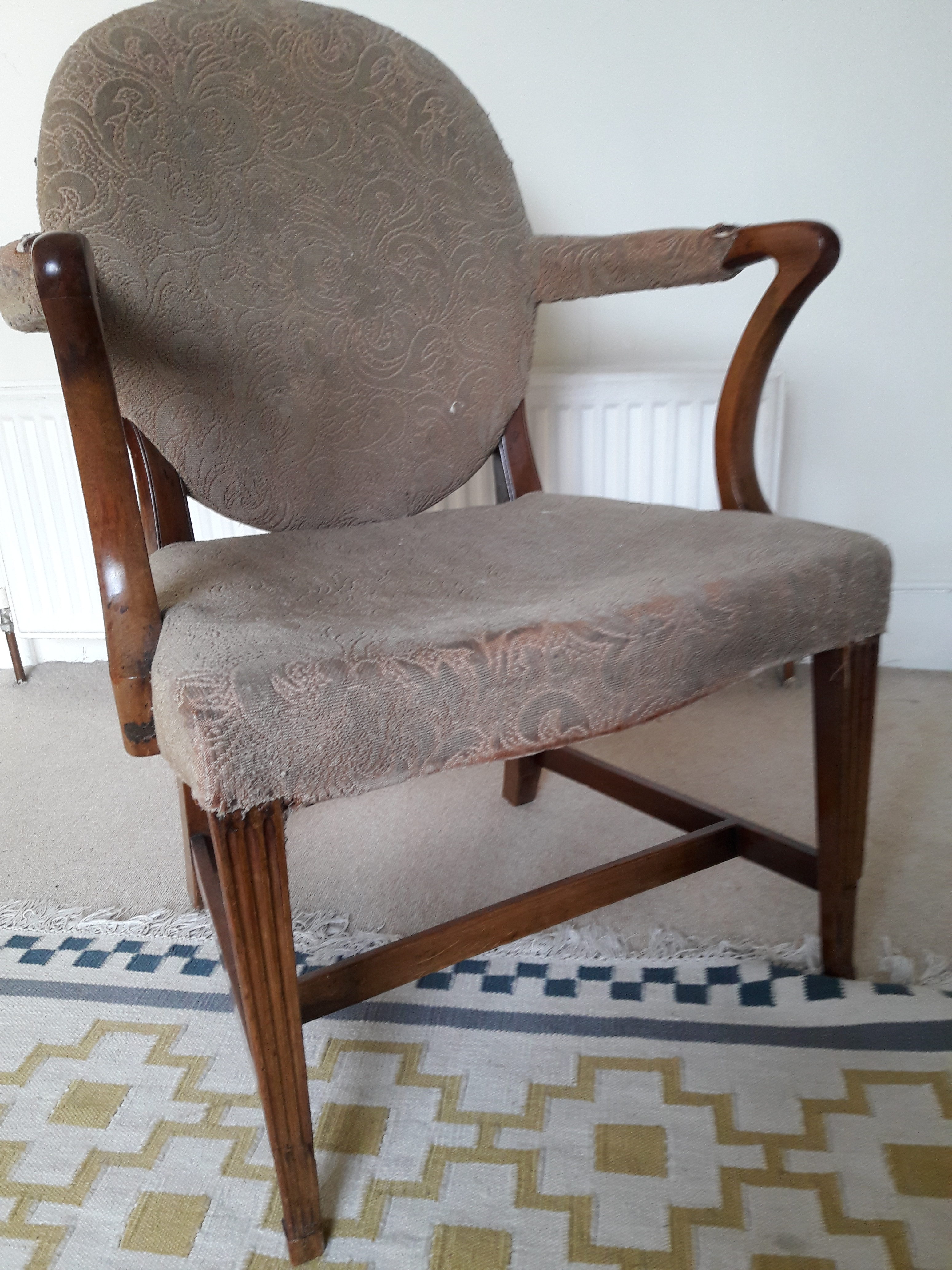 This Is The Chair My Father Sat On At His Bureau, In The Room We Called The  Drawing Room In The House Where I Grew Up.
